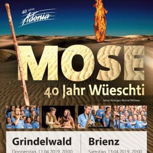 Adonia Musical Mose, Grindelwald